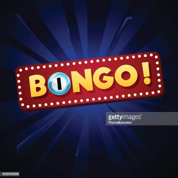bingo background - bingo stock illustrations