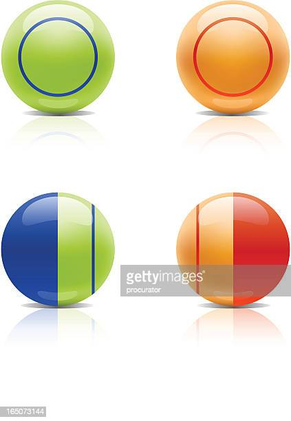 bingo balls - bingo stock illustrations