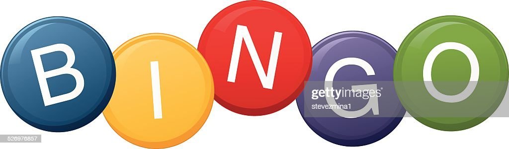 Bingo Balls : stock illustration