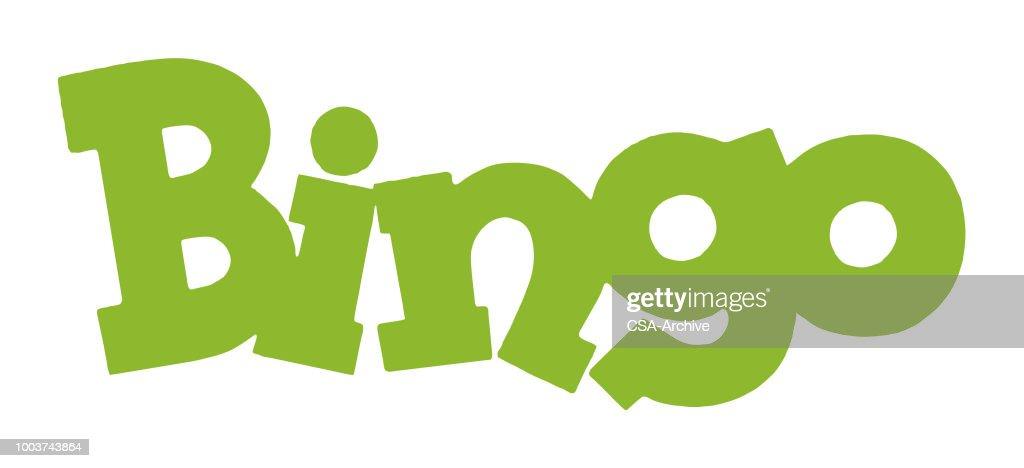 Bingo : stock illustration