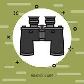 Binoculars Military Icon