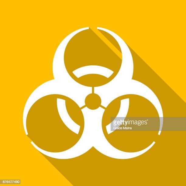 Bio hazard Or Biological Hazard Warning Sign Illustration - Vector