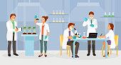 Biochemical laboratory vector