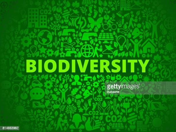 ilustraciones, imágenes clip art, dibujos animados e iconos de stock de biodiversidad conservación del medio ambiente vector icono patrón - biodiversidad