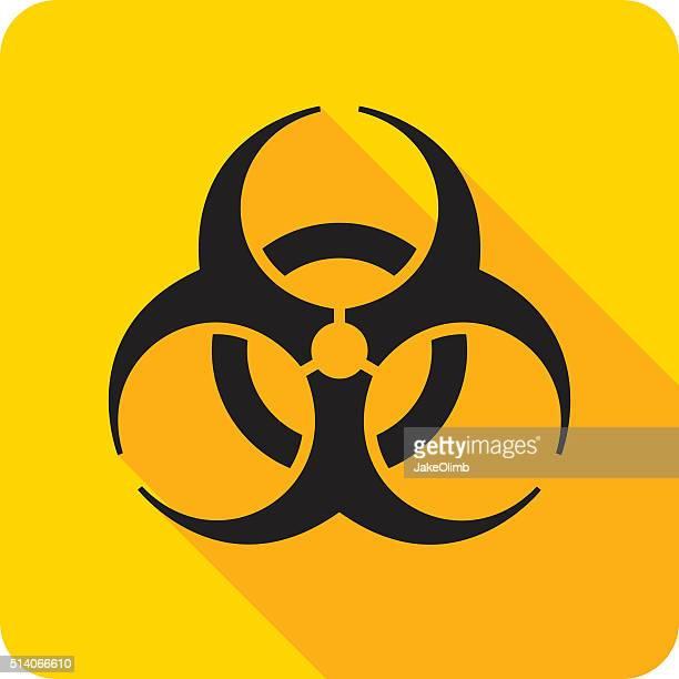 Biohazard Icon Silhouette