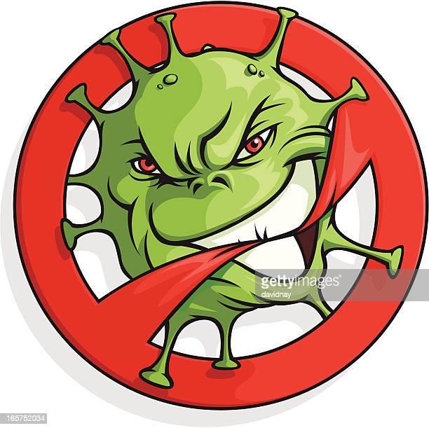 Biohazard Mascot