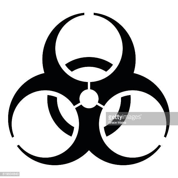 Biohazard Symbol Stock Illustrations And Cartoons Getty Images