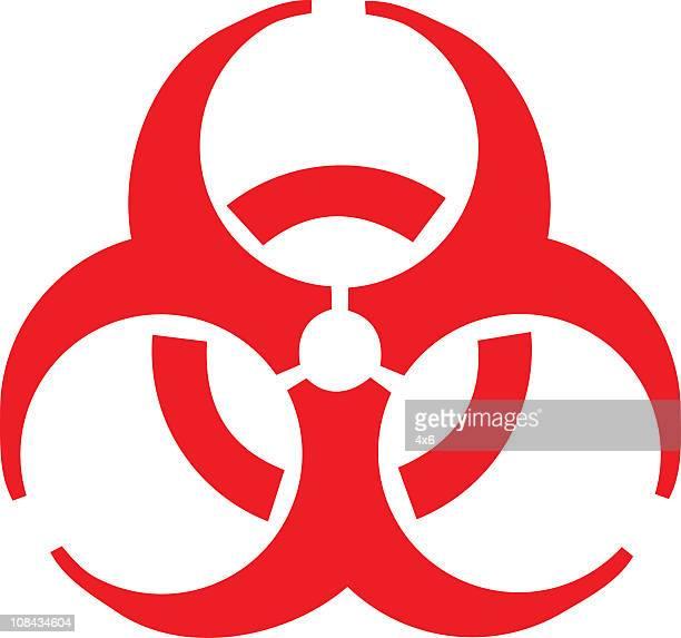 ilustraciones, imágenes clip art, dibujos animados e iconos de stock de de riesgo biológico - arma biológica