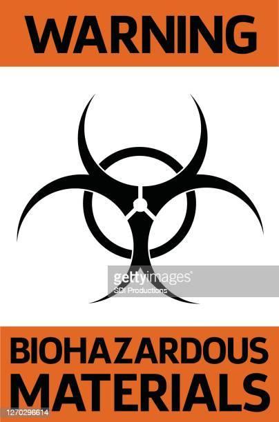 生物危険物警告サイン - バイオハザードマーク点のイラスト素材/クリップアート素材/マンガ素材/アイコン素材