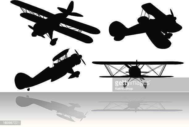 Biplanes-Transport aérien