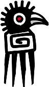 Bird icon  Aztec