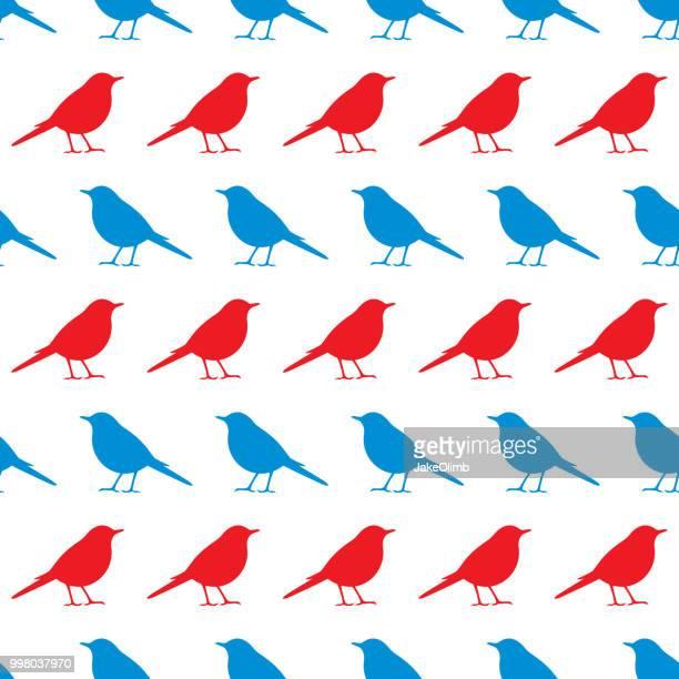 ilustrações de stock, clip art, desenhos animados e ícones de bird icon pattern - canto de passarinho