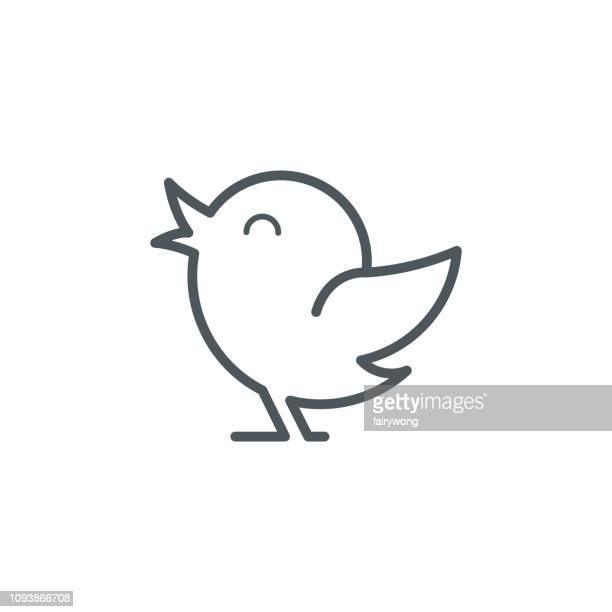 ilustraciones, imágenes clip art, dibujos animados e iconos de stock de icono de aves - paloma blanca