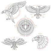 bird labels & badges
