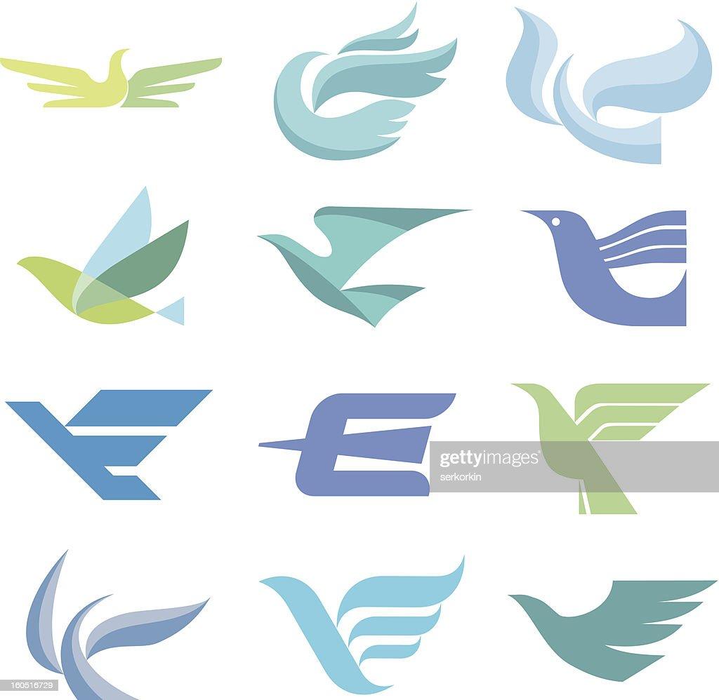 Bird Logo Signs