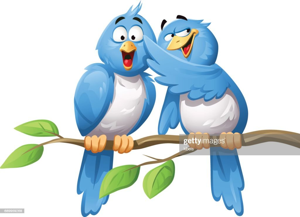 Bird Spreading Rumor