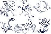 bird tattoo symbol design