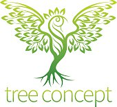 Bird Tree Concept