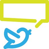 Bird tweets icon