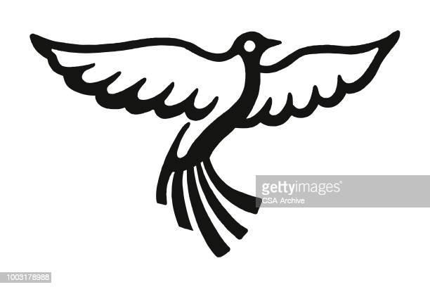 bird - one animal stock illustrations