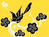 Bird with Plum Blossom