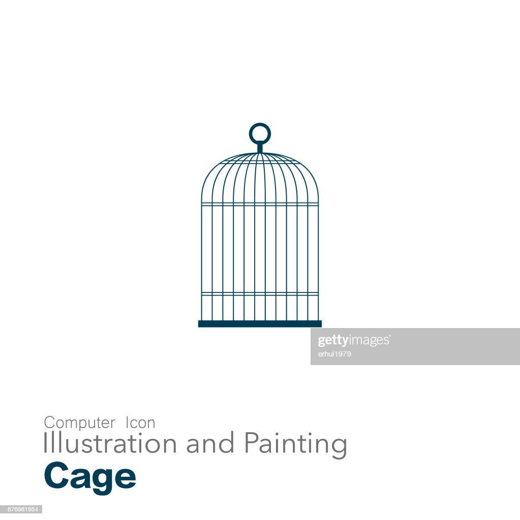 birdcage : stock illustration