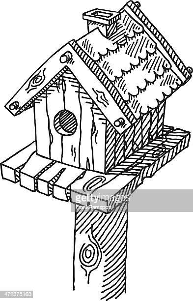Birdhouse Drawing