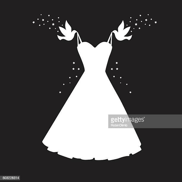 Wedding Dress Stock Illustrations And Cartoons Getty Images