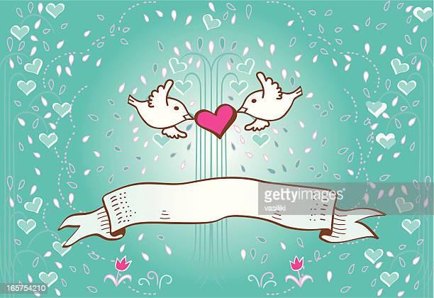 Aves en el amor