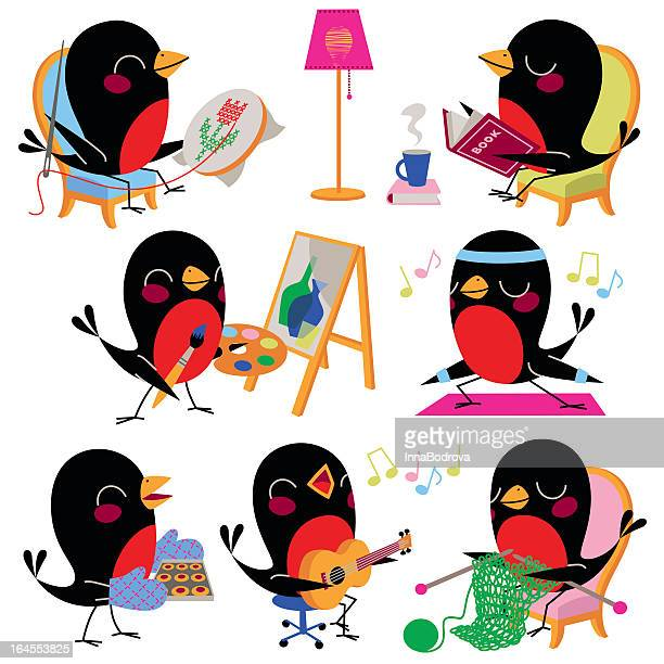 Birds Leisure and Hobbies.