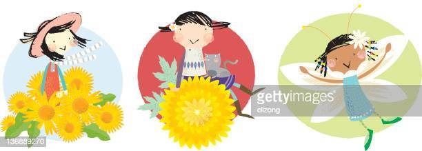 birth flower october to december - paperwhite narcissus stock illustrations, clip art, cartoons, & icons