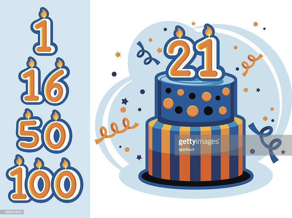 Birth or Anniversary Cake