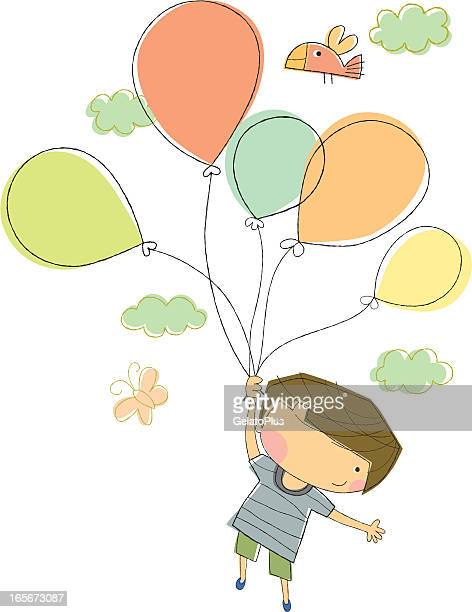 birthday boy celebration - holding stock illustrations, clip art, cartoons, & icons