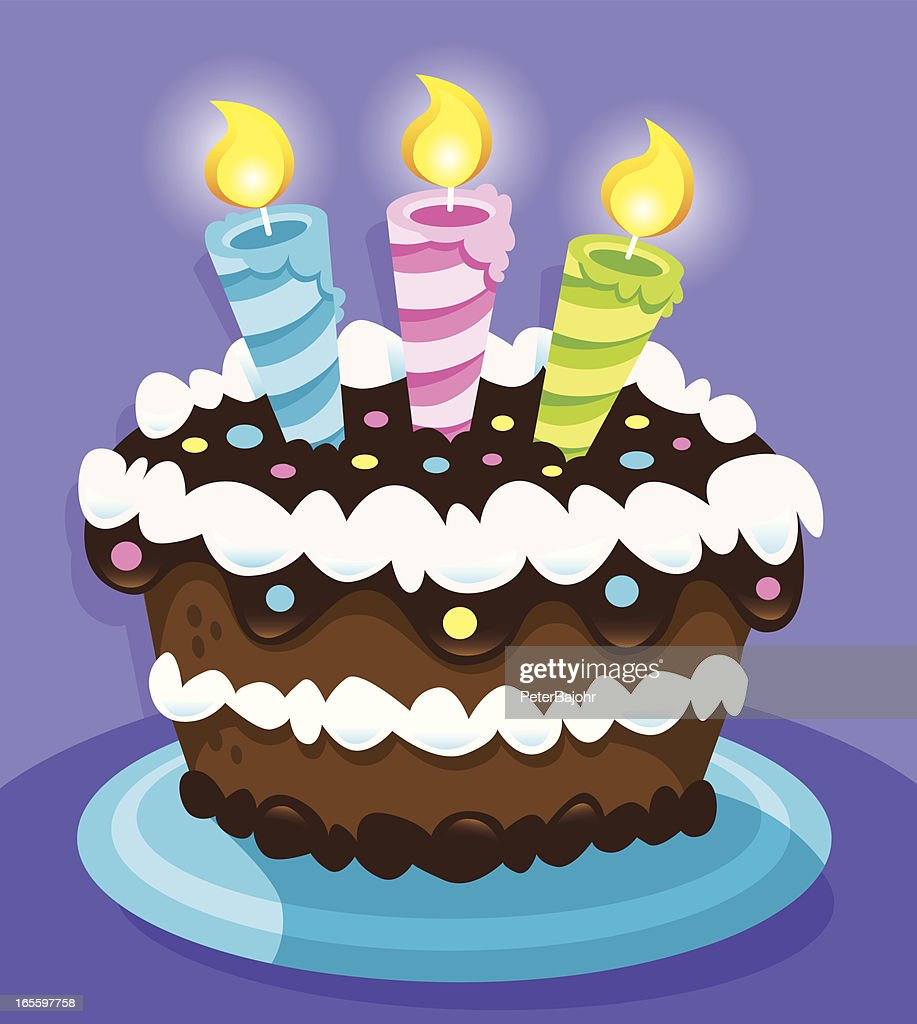 Amazing Birthday Cake High Res Vector Graphic Getty Images Funny Birthday Cards Online Elaedamsfinfo