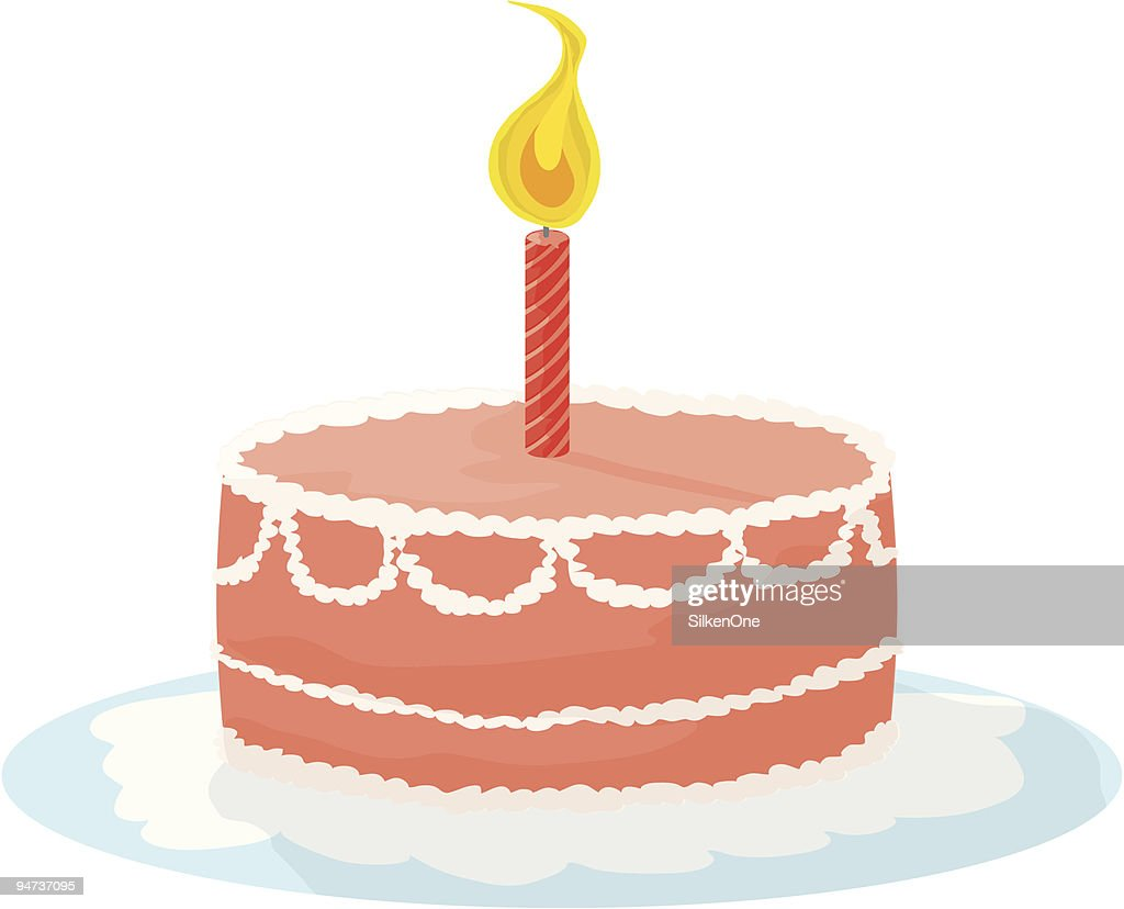 Birthday Cake Images Vektor ~ Birthday cake vector art getty images