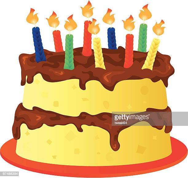 誕生日ケーキ - clip art点のイラスト素材/クリップアート素材/マンガ素材/アイコン素材