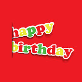 Birthday Card, Flyer or Cover Design