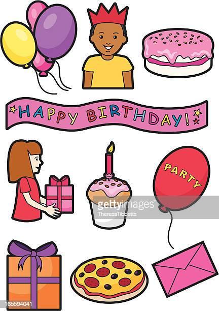 Birthday icons 2