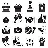 Birthday Icons [Black Edition]