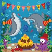 birthday marine animals