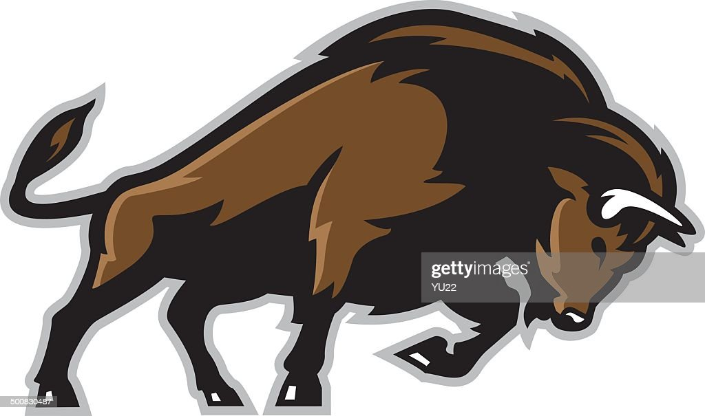 Bison : stock illustration