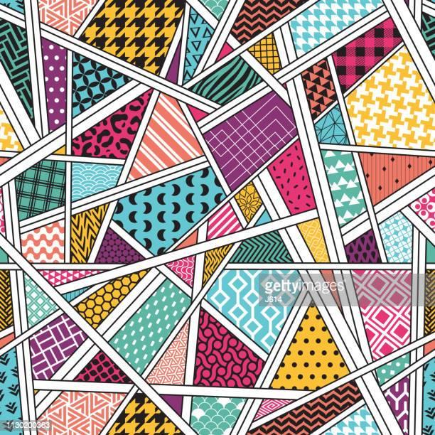 すべてのビット - 千鳥格子点のイラスト素材/クリップアート素材/マンガ素材/アイコン素材