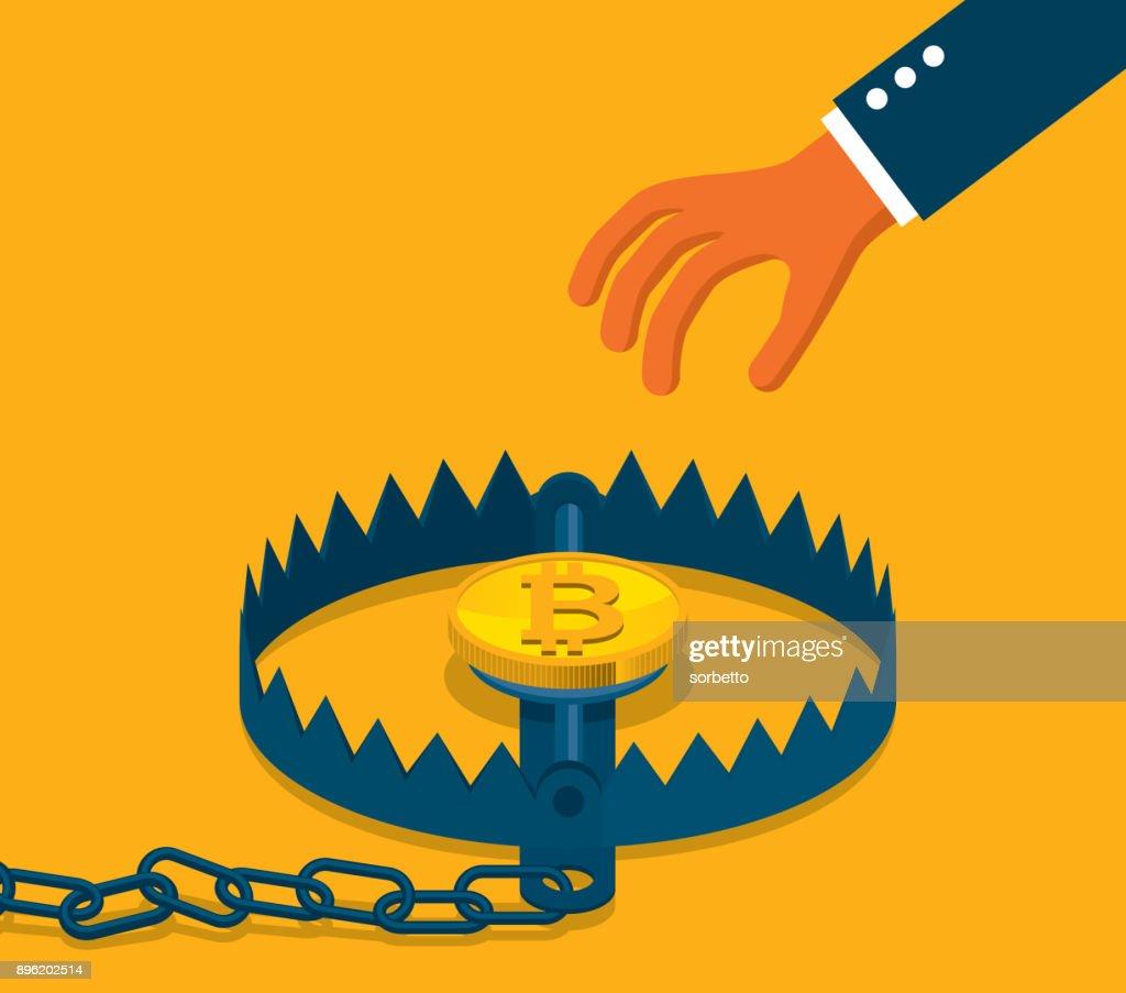 Bitcoin concept - Trap
