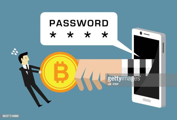 Bitcoin hacker attack password