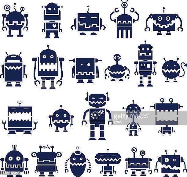 Biting Robot Symbols