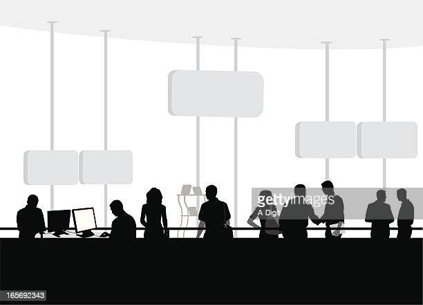Biz Environment Vector Silhouette