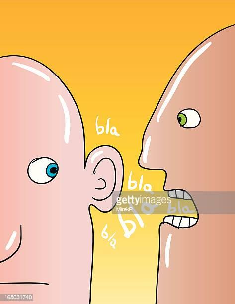 bla blah blab - bologna stock illustrations, clip art, cartoons, & icons