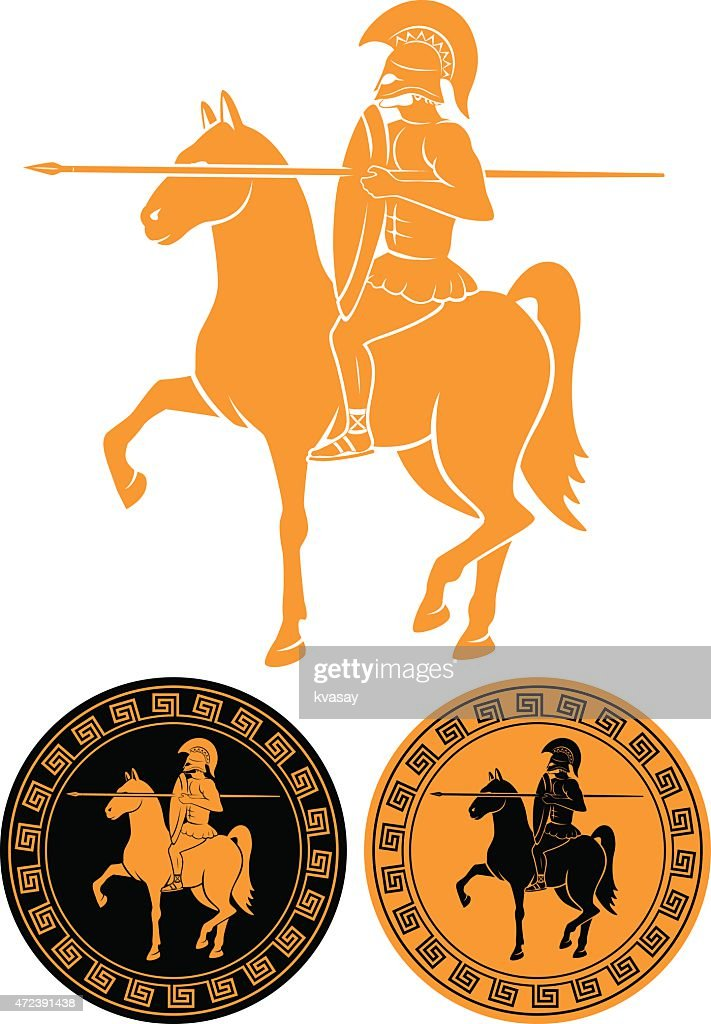 Black and orange gladiator coins