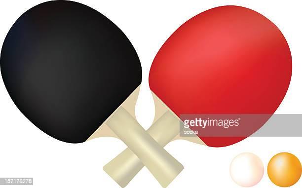 ilustraciones, imágenes clip art, dibujos animados e iconos de stock de tenis de mesa - tenis de mesa