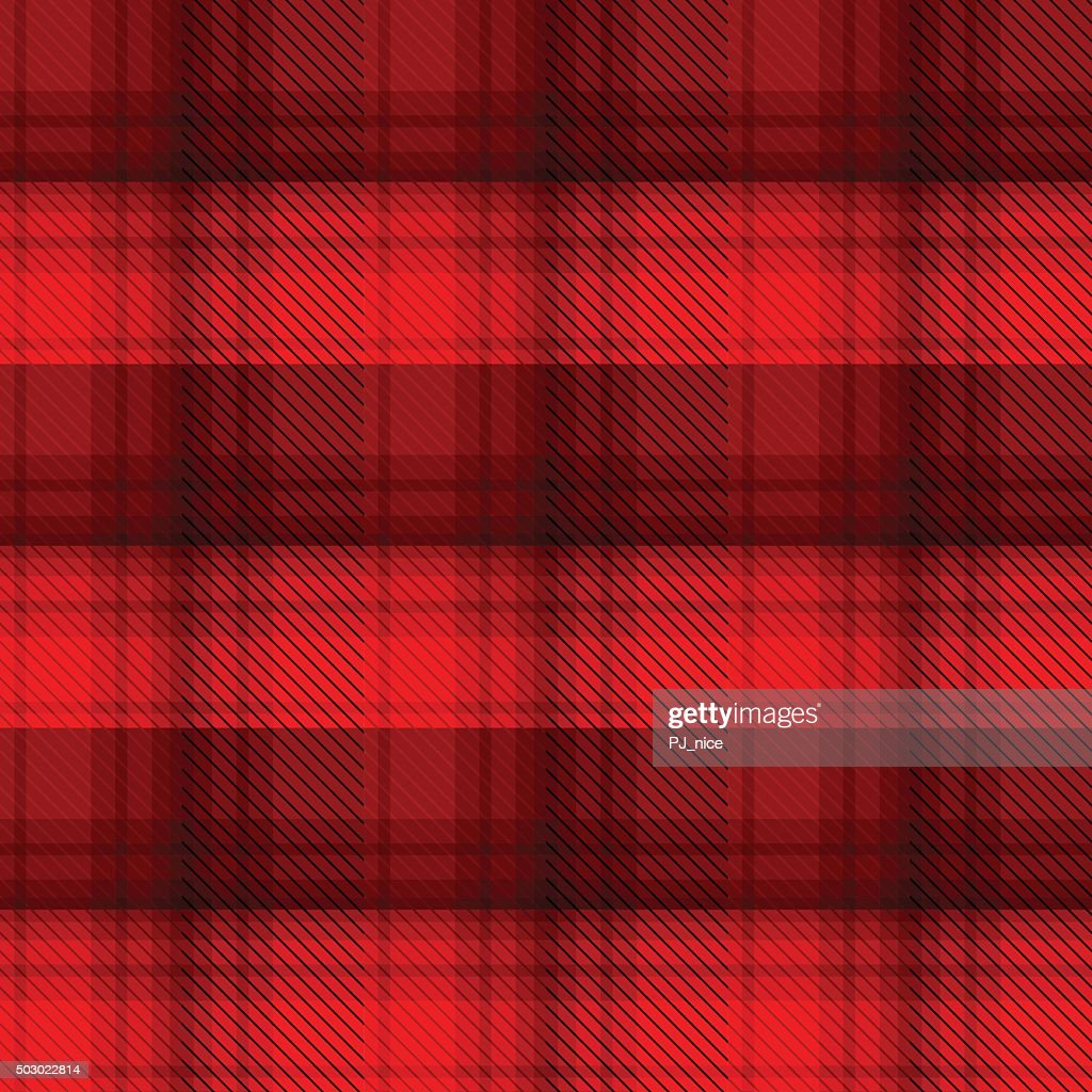 Black and red tartan plaid background